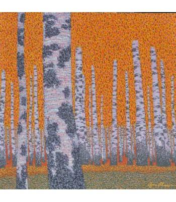 birches by George Kotman