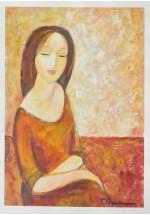 contemplation by Dina Shubin