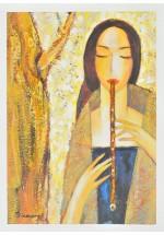 flute queen By Dina Shubin