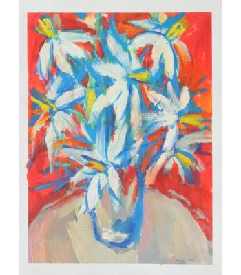 white bouquet by Dina Shubin