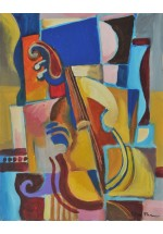 violin by Dina Shubin