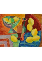 still life with lemons by Dina Shubin