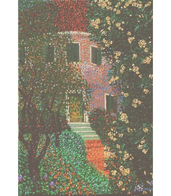house in the garden by George Kotman
